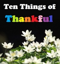 10 Things Thankful