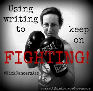 Using Writing Keep Fighting