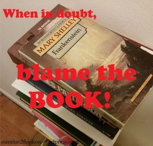Blame the book