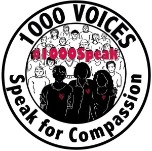 Join 1000 Voices Speak for Compassion