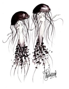 Jellyfish Cuties by TJ Lubrano