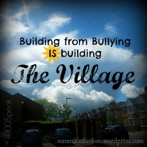 Building from Bullying #1000Speak