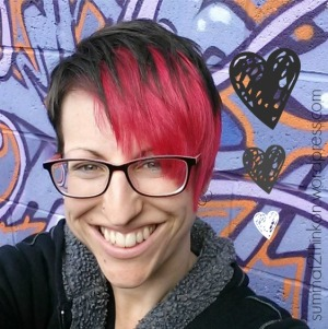 Love Graffiti Hair