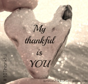 My Thankful is YOU
