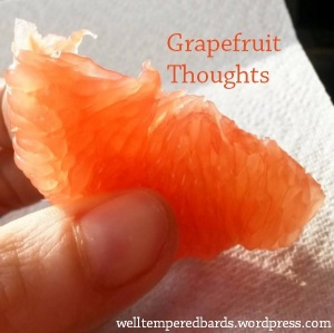 Grapefruit Thoughts - welltemperedbards.wordpress
