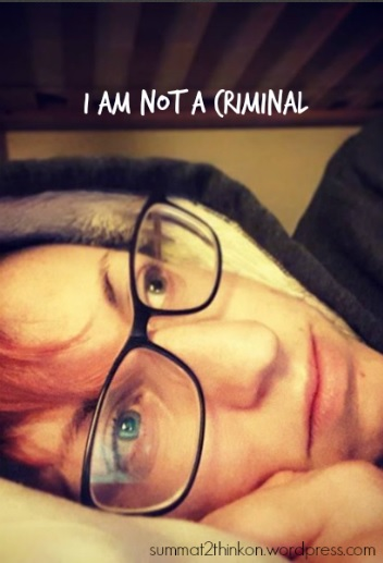 I am not a criminal